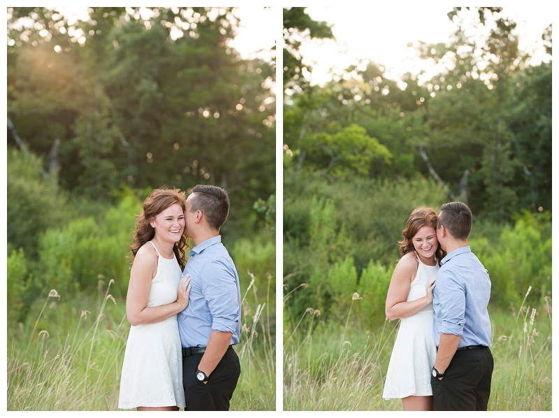 Caitlin + Matt, Engagement Session in College Station, TX with Imani Photography