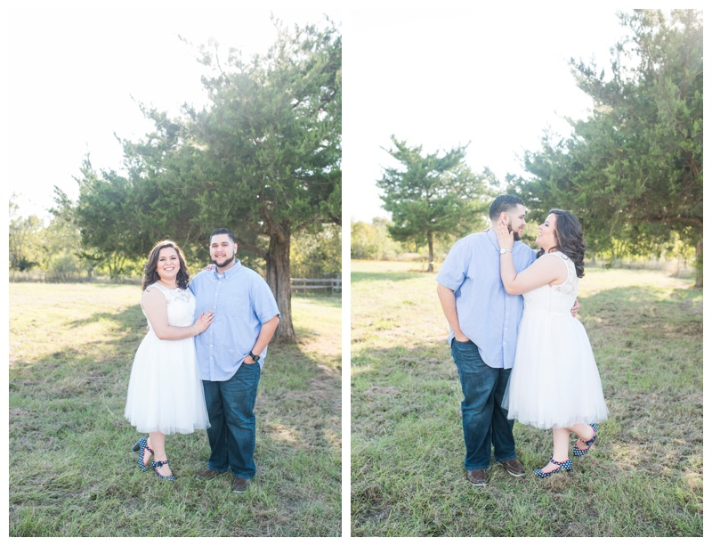 Aleyda + Markus, Open Texas Field Engagement Session, Rachel Driskell Photographer
