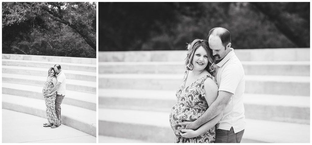 Maternity Session at Lick Creek Park, College Station Maternity Session, Rachel Driskell Photography