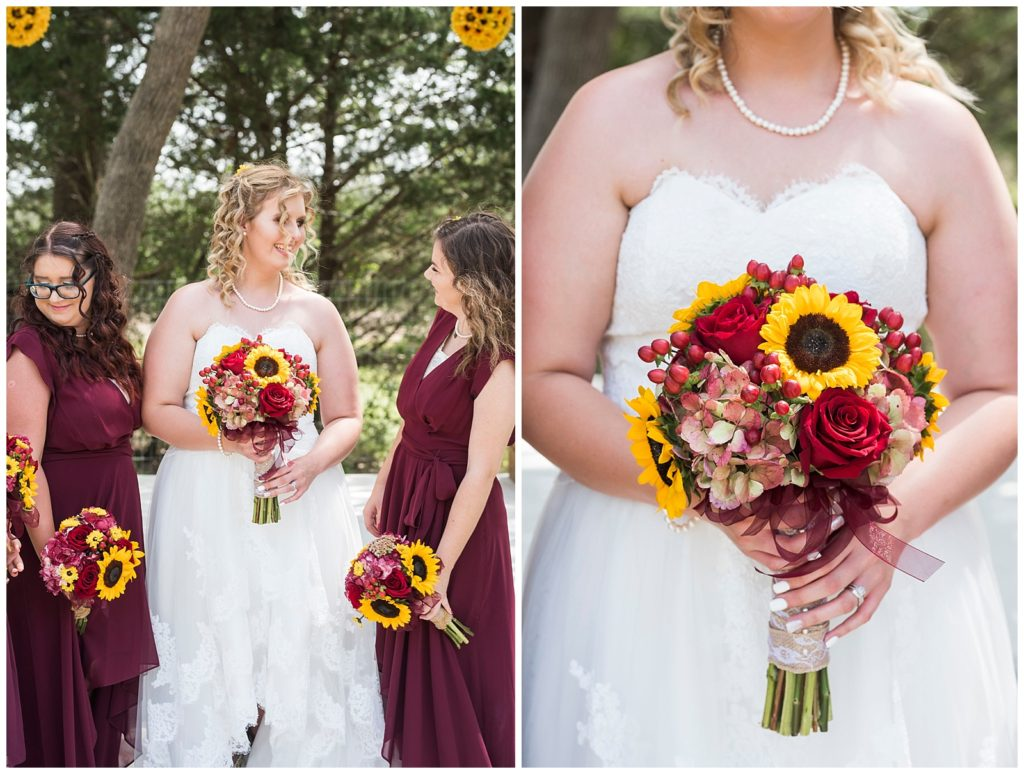 Summer Wedding at The Barn BCS