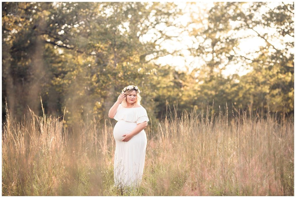Katie & Buck's Maternity Session at Lick Creek Park, Rachel Driskell Photography