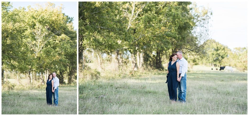 Jaime & Frankie's Family Ranch Engagement Session in Anderson TX, Rachel Driskell Photography