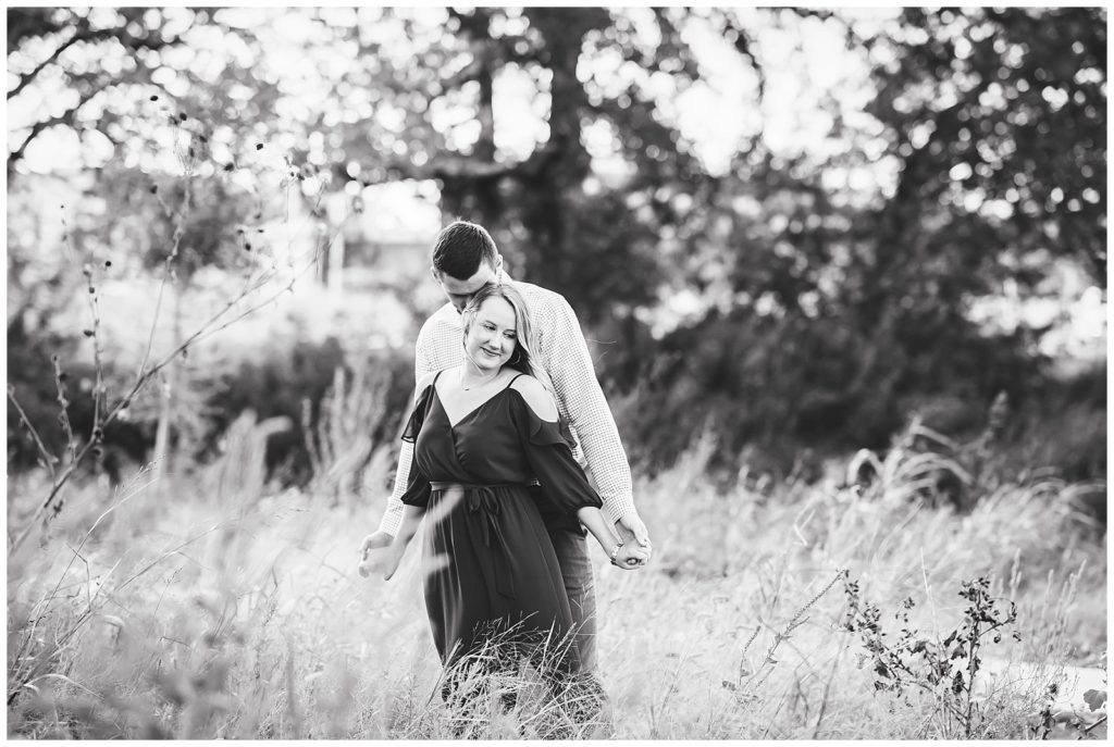 Bailey & Dylan's Engagement Session at The Gardens of TAMU, Rachel Driskell Photography