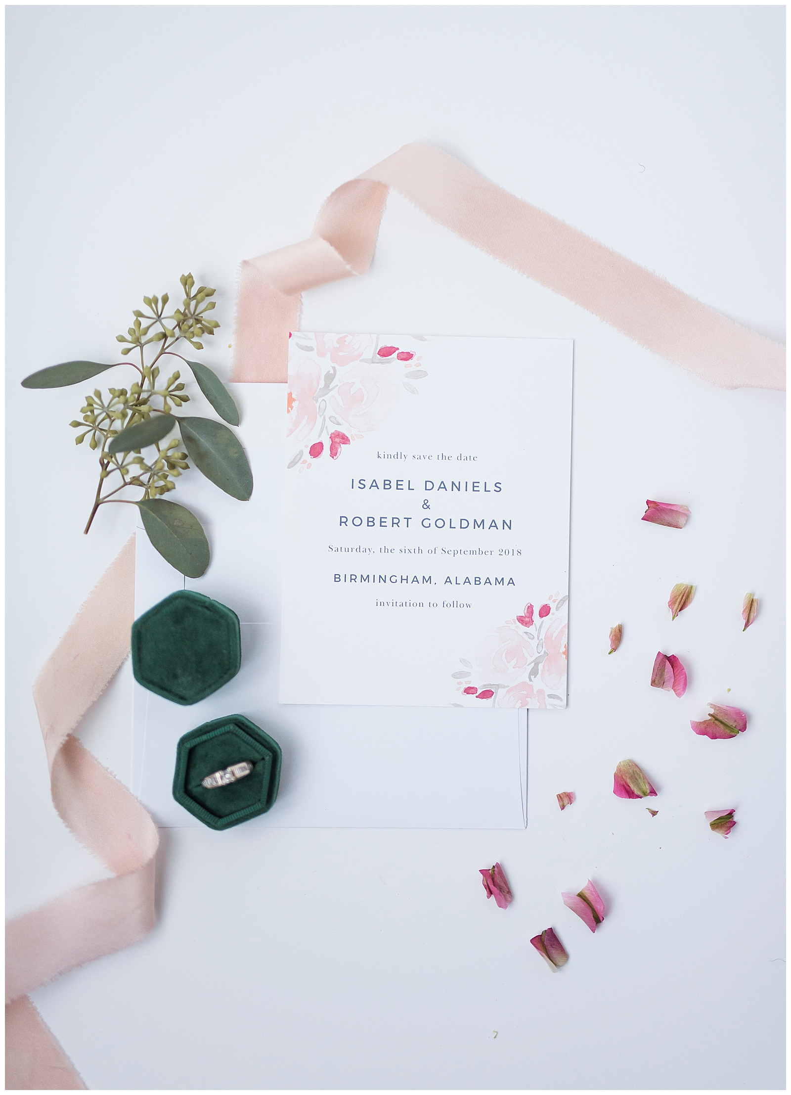 Ordering Save the Dates for your Wedding with Basic Invite, Rachel Driskell Photography