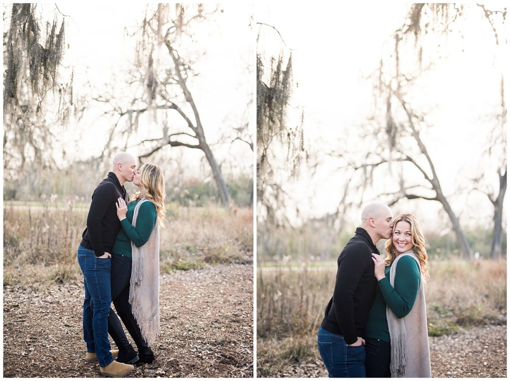 Coleen & Cruz Engagement Session at Hermann Park in Houston TX, Rachel Driskell Photography