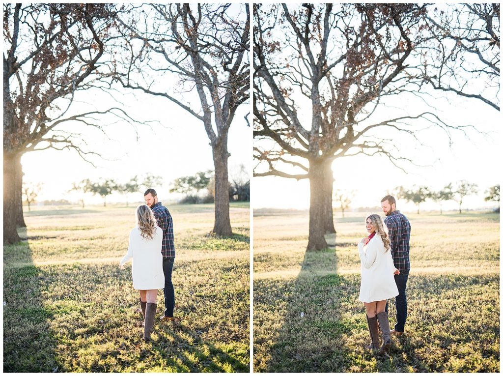 Adriana & Jeremy Research Park Engagement Session, College Station Tx, Rachel Driskell Photography