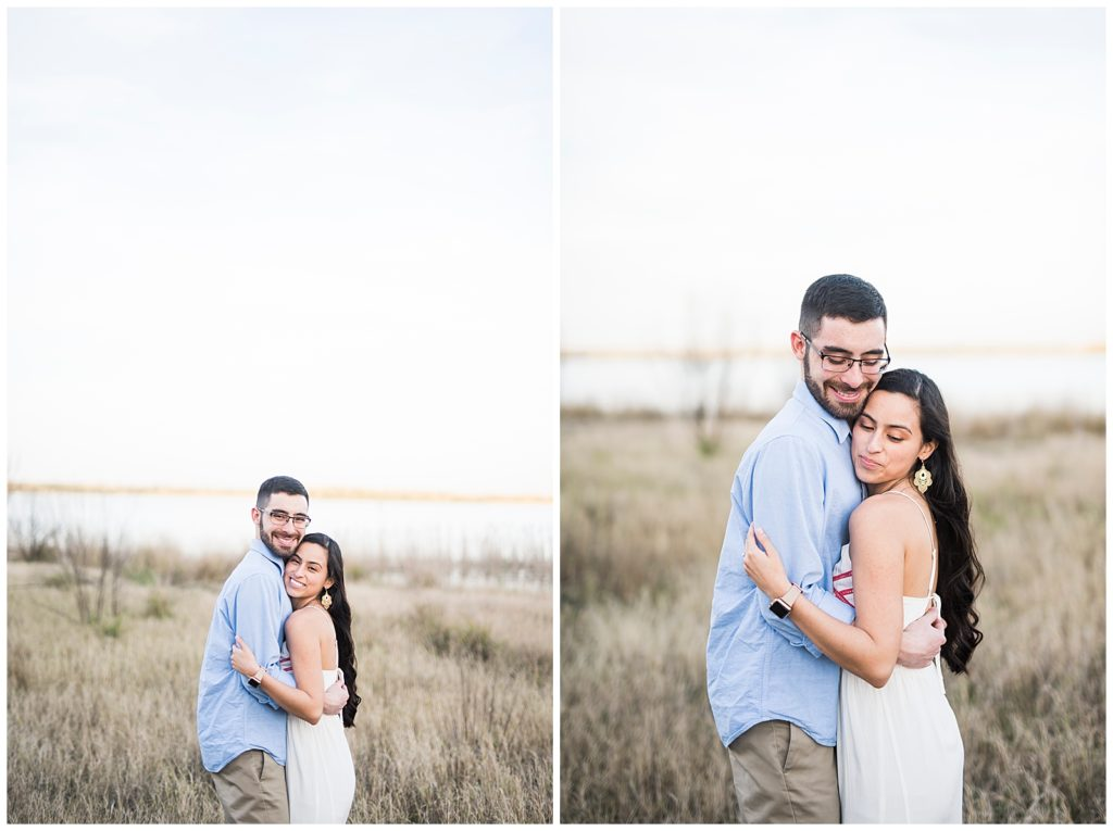 Chelsea & Hermans Engagement Session at Lake Bryan, Bryan, TX, Rachel Driskell Photography