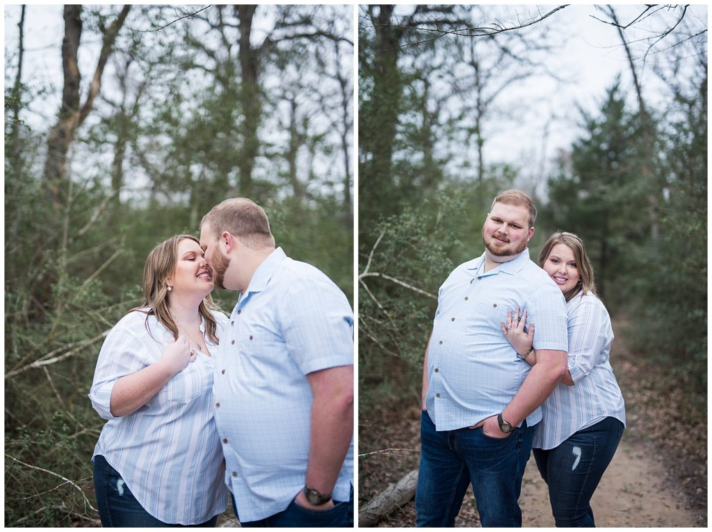 Brittany & Zach's Lick Creek Park Engagement Session, College Station, TX