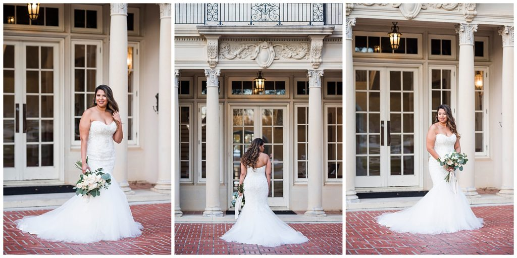 Alyssa's Bridal Session in Downtown Bryan at the Astin Mansion, Bryan TX, Rachel Driskell Photography