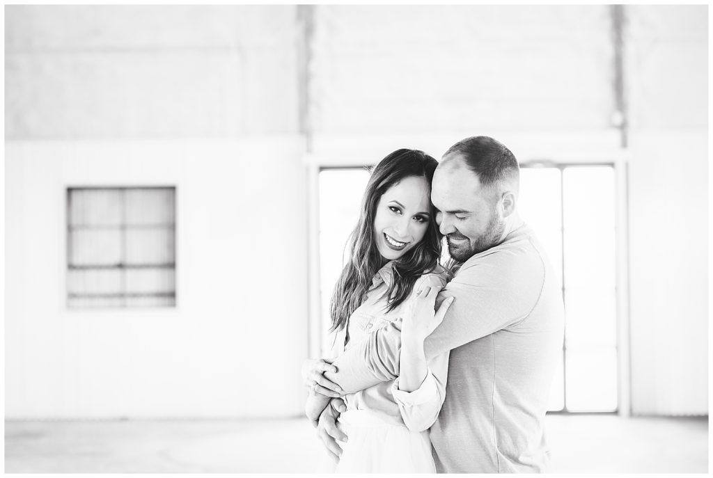 Claire & Garret's Engagement Session at The Gin at Hidalgo Falls, Rachel Driskell Photography