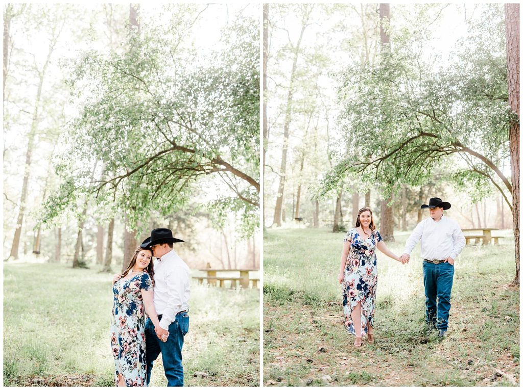 Caitlyn & Ryan's Huntsville State Park Engagement Session in Huntsville, TX with Rachel Driskell Photography