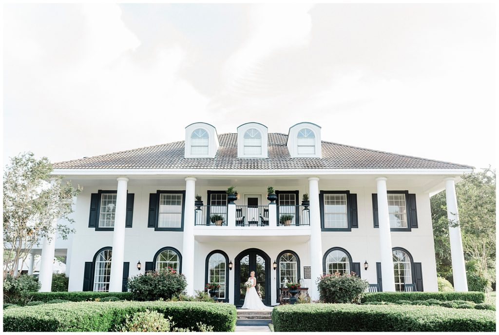 Bailey's Bridal Portraits at The Plantation House in Austin Texas with Rachel Driskell Photography