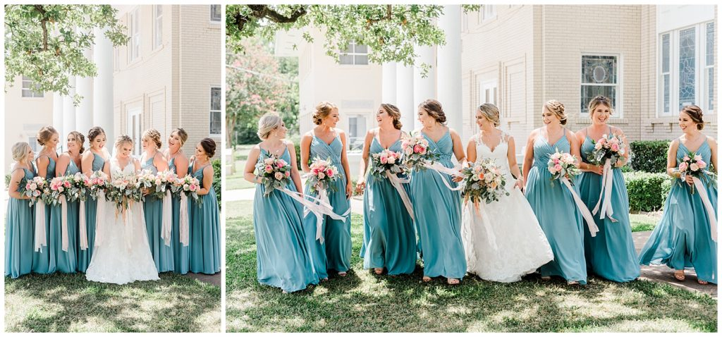 Bailey and Dylan's Wedding in Franklin TX with Rachel Driskell Photography