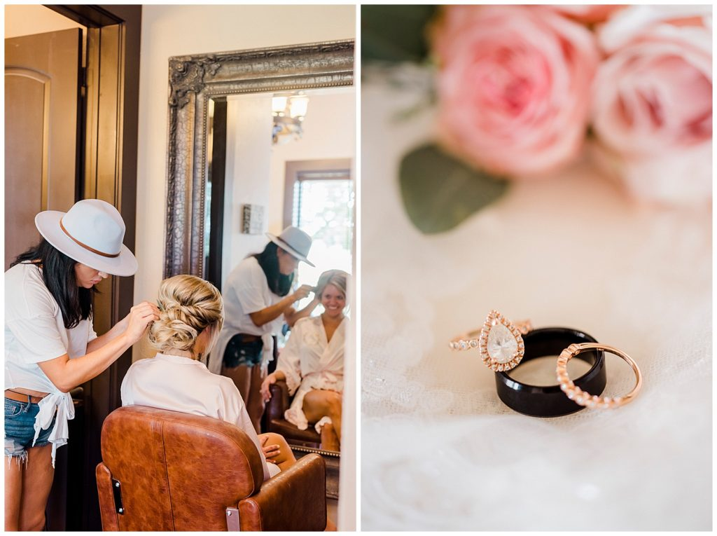 Ross & Emily's Wedding at The Lodge At Country Inn Cottages with Rachel Driskell Photography