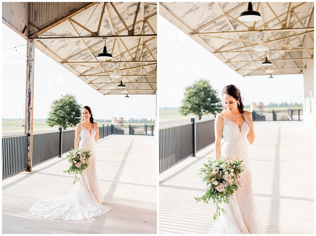 Claire's Bridal Session at The Gin At Hidalgo Falls in Navasota Tx with Rachel Driskell Photography