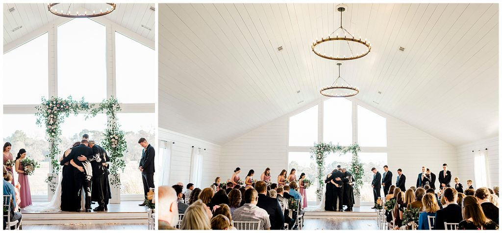 Sydni & Tate's beautiful January Wedding at The Farmhouse in Magnolia Tx by Rachel Driskell Photography