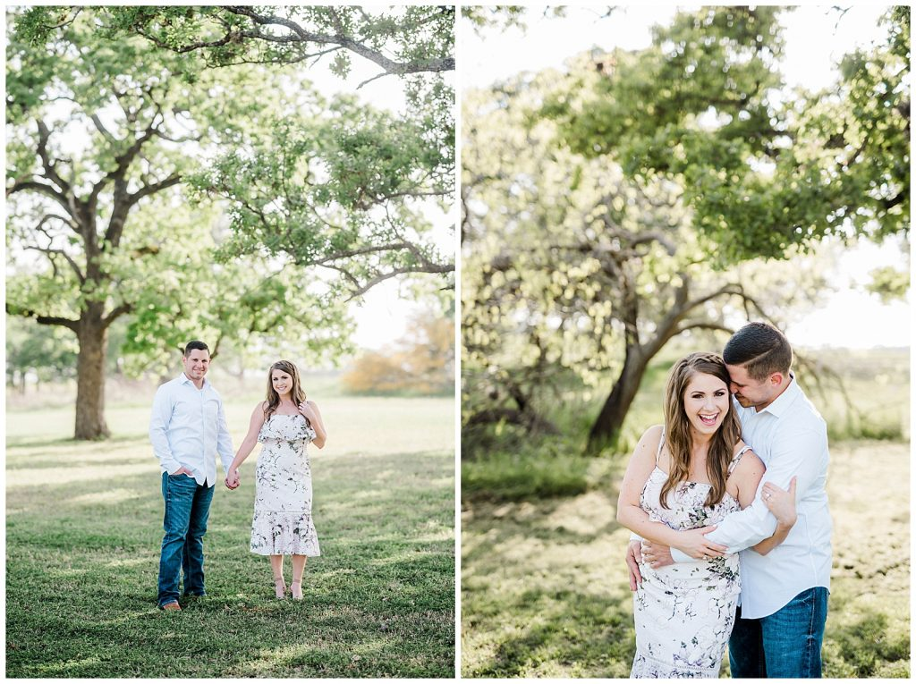 Courtney & Bobby's Research Park Engagement Session with Rachel Driskell Photography