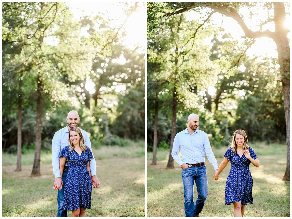 Emily & Kohl's Texas Engagement Session with Rachel Driskell Photography