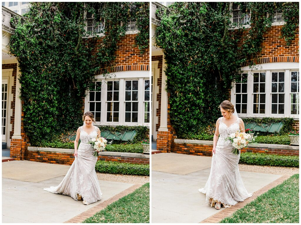 Teresa's Gorgeous Bridal Session at The Astin Mansion in Bryan Texas with Rachel Driskell Photography