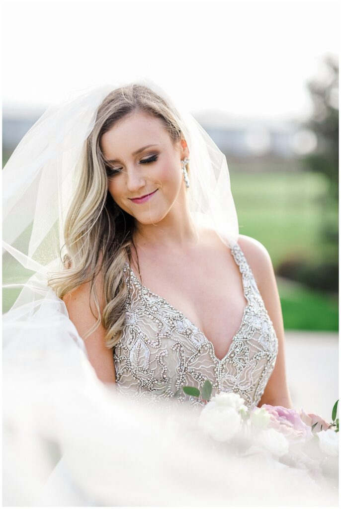 Natalie's beautiful Bridal Portrait Session at The Farmhouse in Magnolia Texas with Rachel Driskell Photography