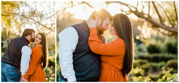 Ellie & Caleb's Engagement Session at Old Baylor and the Antique Rose Emporium with RDP Team member Jamie