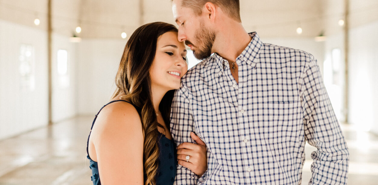 Kaitlyn & Jeff's Engagement Session in Downtown Navasota and The Gin at Hidalgo Falls