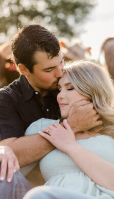 Macey & Ethan's beautiful summer Engagement Session with Jericka of the RDP Teams