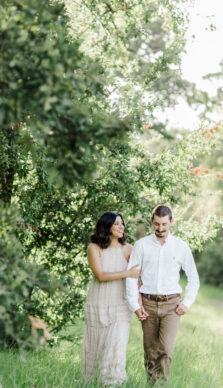 Ashley & Kirk's Summer Engagement Session with RDP Team Jamie
