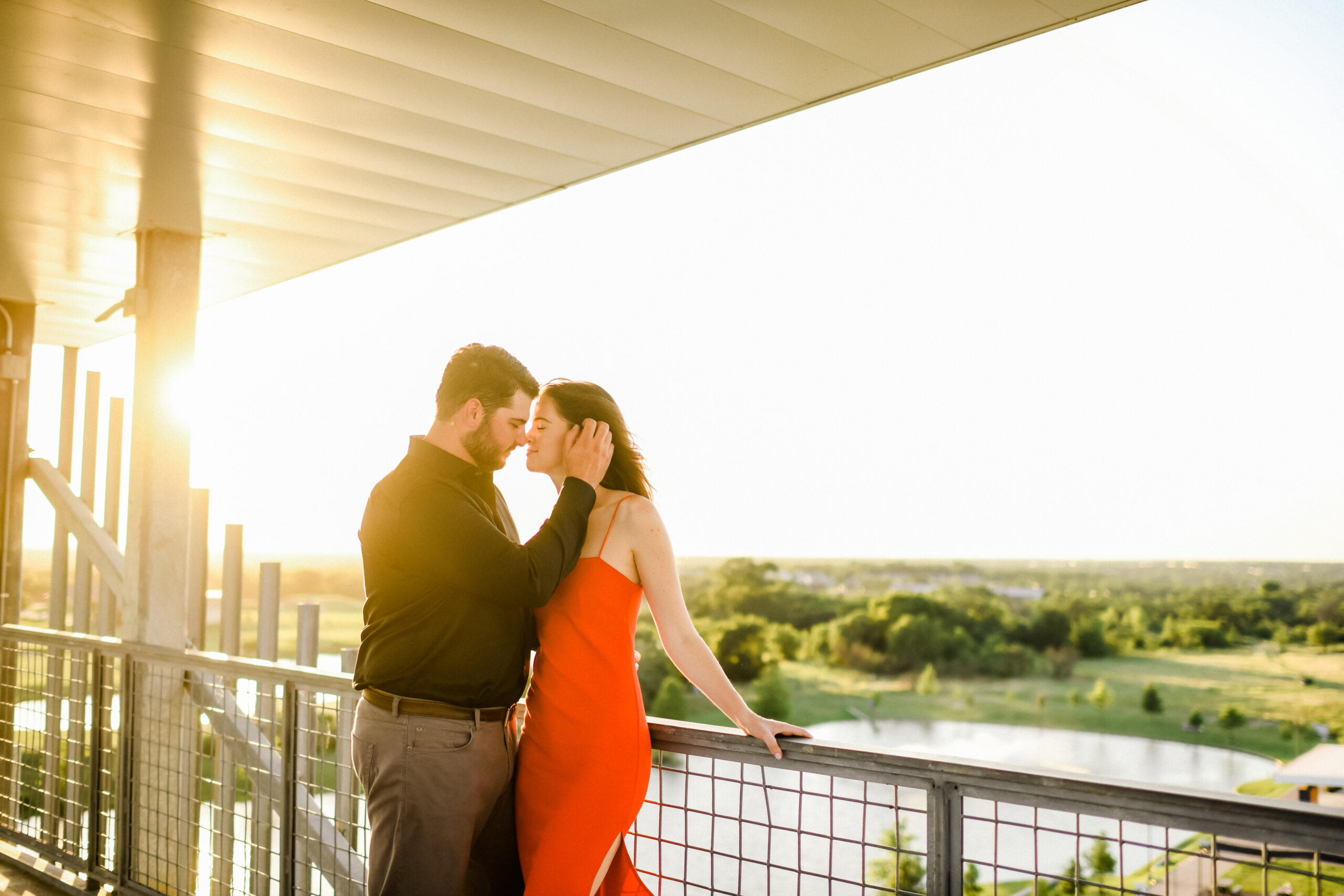 Kat & Keith's Engagement Session at The Stella Hotel and Hershel's Whiskey Bar in College Station Texas