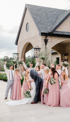 Laura & Eddie's Elegant Wedding at The Iron Manor in Montgomery Texas with Rachel Driskell Photography