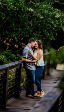 Kate & Jesse's Engagement Session in College Station, TX at Peach Creek Ranch with Rachel Driskell Photography