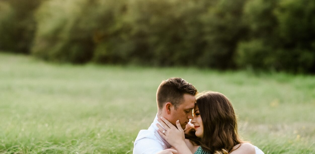 Ashley & Jake's Engagement Session at Hensel Park in College Station, TX with Rachel Driskell Photography